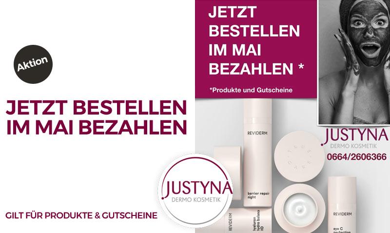 Kosmetik-justyna-aktion-mai